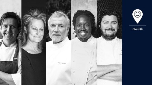 S.Pellegrino Young Chef 2018: Pacific region's jury