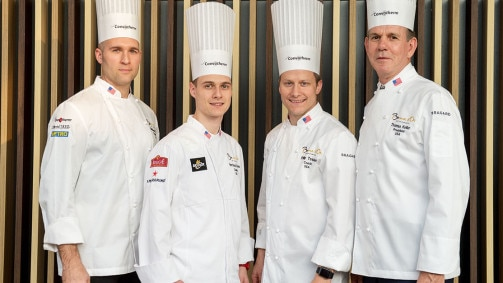 Bocuse d'Or: Mathew Peters is the winner with Team USA