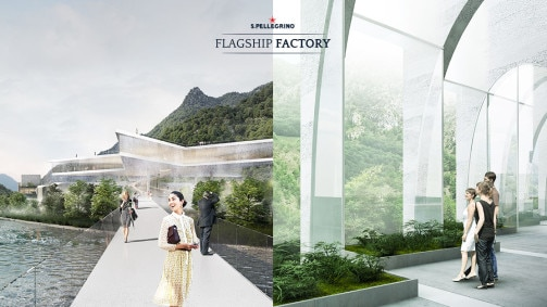 TWO ARCHITECTURE FIRMS SHORTLISTED IN COMPETITION TO BUILD A HOME FOR S.PELLEGRINO® SPARKLING NATURAL MINERAL WATER