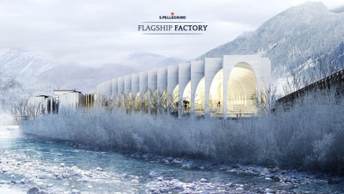 Architecture firm BIG wins competition to build the new home for S.Pellegrino® Sparkling Natural Mineral Water