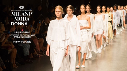 S.Pellegrino adds its signature sparkle to Milan Fashion Week