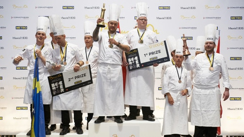 S.Pellegrino at Bocuse d'Or Europe 2018