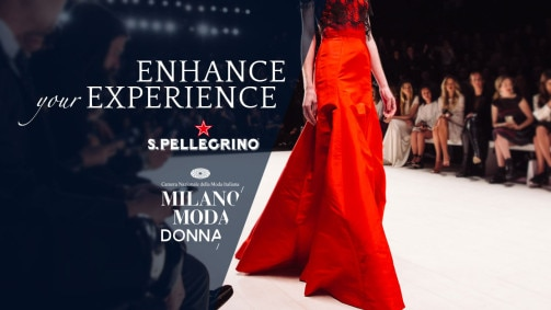 S.Pellegrino at Milan Fashion Week S/S 2019