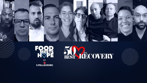 50 BEST RECOVERY SUMMIT startete mit FOOD MEETS HOPE