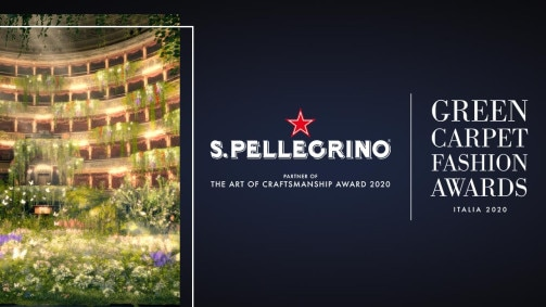 S.PELLEGRINO ER PARTNER MED GREEN CARPET FASHION AWARDS