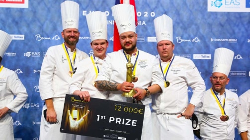 S.Pellegrino at the Bocuse D'Or Europe 2020 final