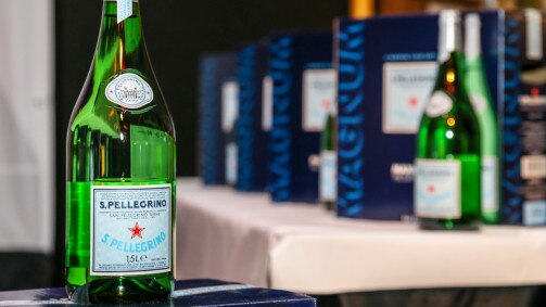 S.Pellegrino brings exclusivity with the unique Magnum Bottle