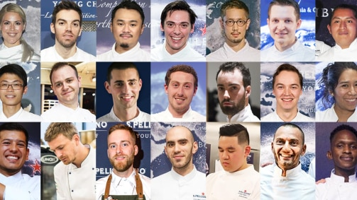 Vote for your favourite Young Chef!
