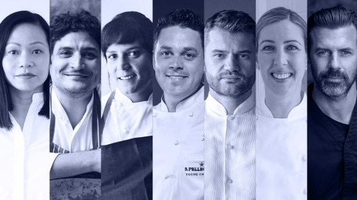 The Jury of S.Pellegrino Young Chef 2020 Grand Finale (October 2021, 29th-30th)