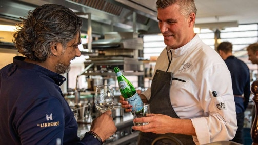 Interview S.Pellegrino Starring chef Soenil Bahadoer
