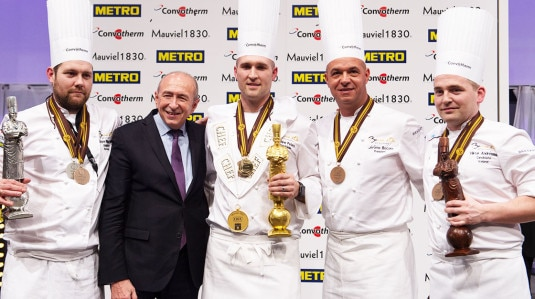 Bocuse D'Or 2017 il Team USA vince insieme allo chef Mathew Peters