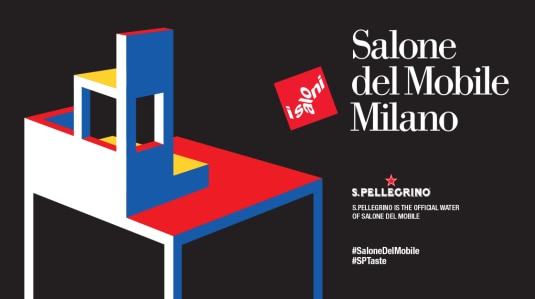 S.Pellegrino partners & Milan Design Week