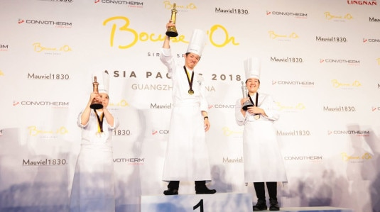 S.Pellegrino at Bocuse d'Or Asia Pacific 2018
