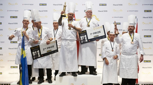 S.Pellegrino beim Bocuse d'Or Europe 2018