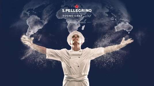 The live stream of S.Pellegrino Young Chef Grand Finale 2018