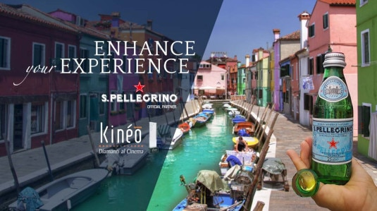 S.Pellegrino partner of Kinéo Awards