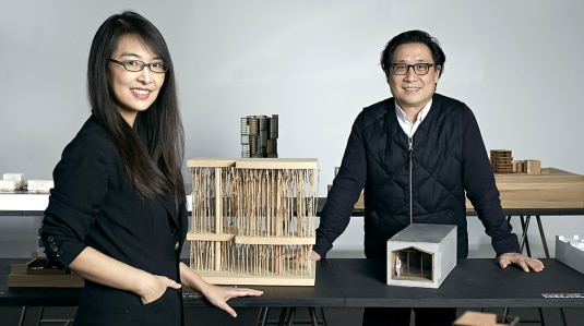 Lyndon Neri and Rossana Hu founders of design and research office Neri&HU