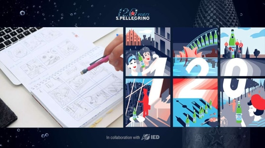 S.Pellegrino Launches 120 Year Anniversary - IED Young Talents Collaboration Project