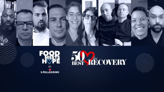 FOOD MEETS HOPE OPENT 50 BEST RECOVERY SUMMIT