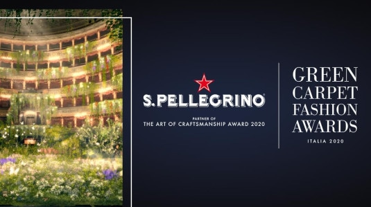 S.Pellegrino partner de Green Carpet Fashion Awards