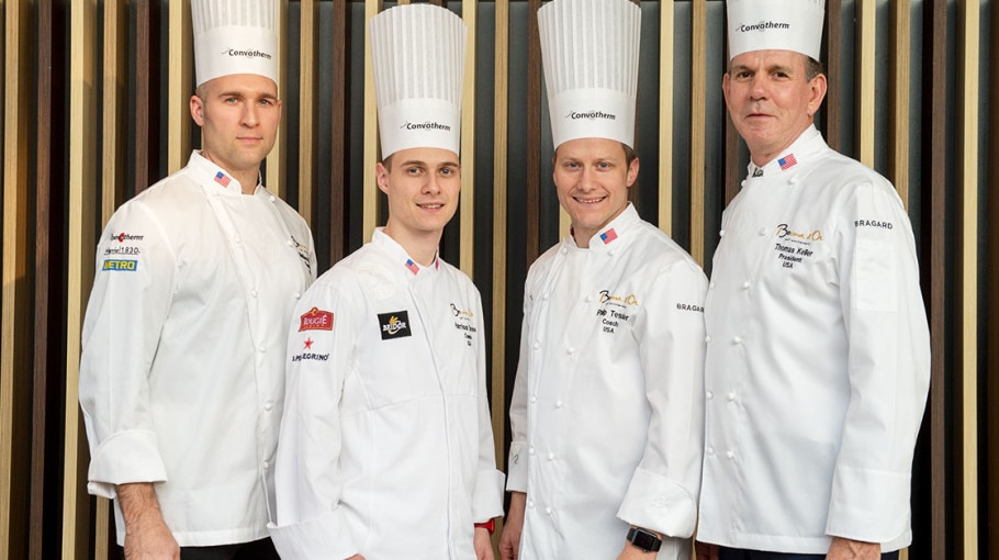 Bocuse D'Or 2017 USA is the winner Team with chef Mathew Peters