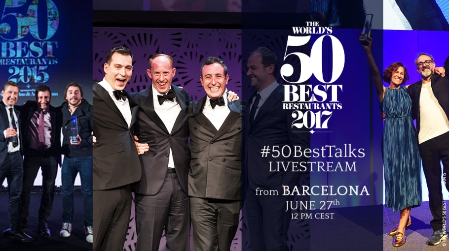 The World's 50 Best Restaurants 15th Anniversary