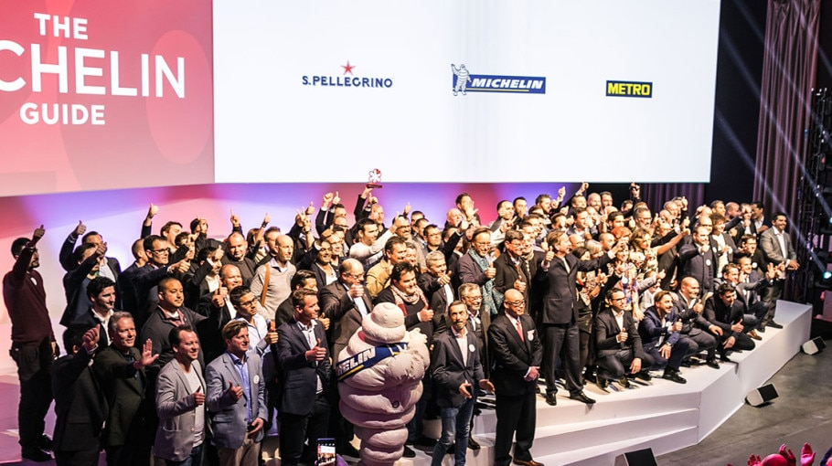 S.Pellegrino and Michelin at Gastronotrends Brussels