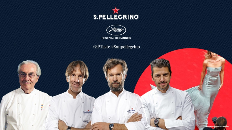 S.Pellegrino is the official water of the 70th edition of Cannes Film Festival