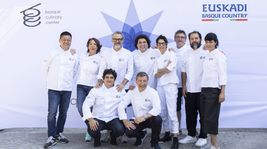 10 top chefs of Basque Culinary World Prize 2018