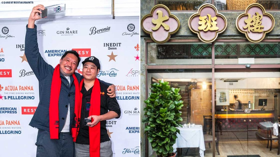 The Chairman Wins Asia's 50 Best Restaurants 2021