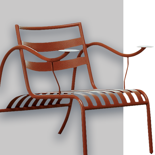Cappellini Design - Thinking Man's Chair (1988)