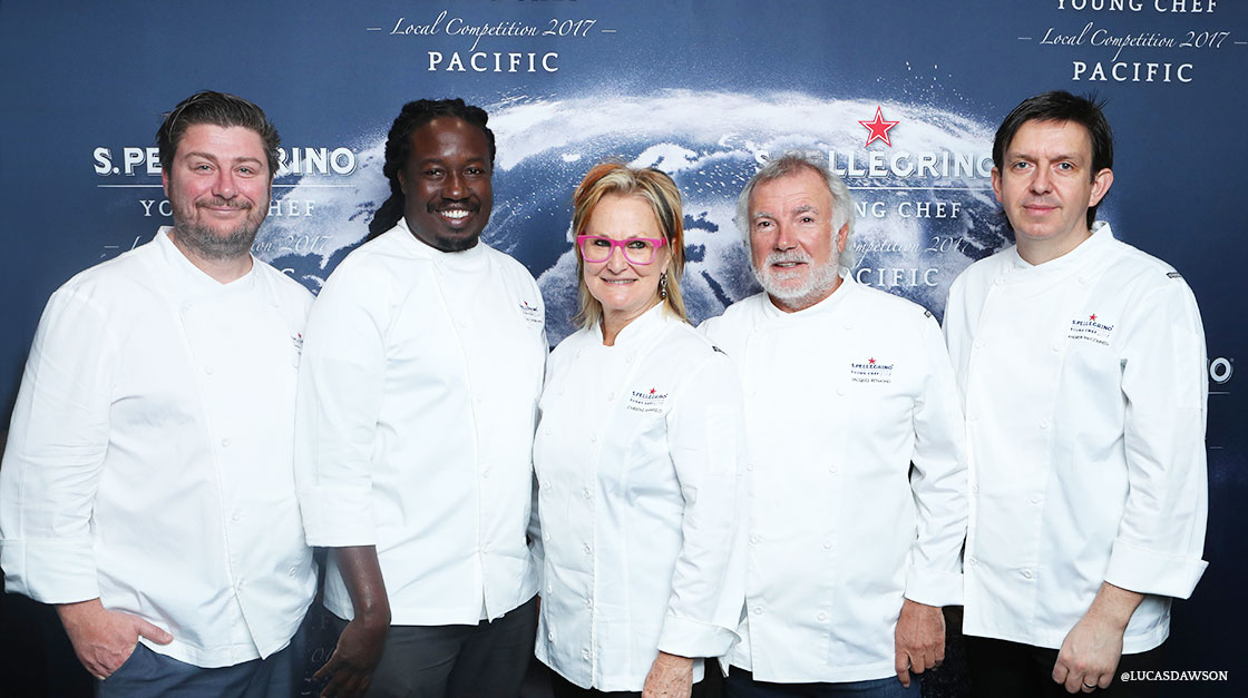 ohn Rivera wins the S.Pellegrino Young Chef 2018 Pacific Region
