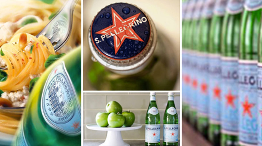 Pinterest and Instagram S.Pellegrino