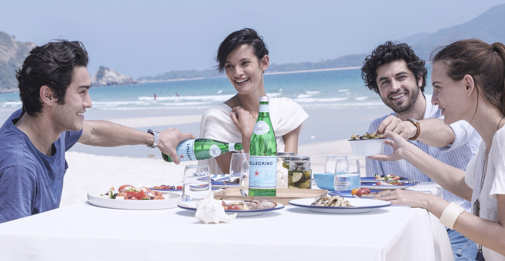 A true taste experience with S.Pellegrino sparkling water