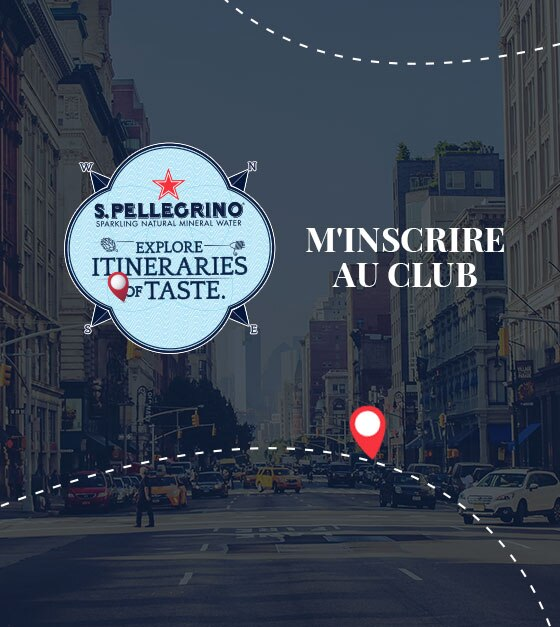S.Pellegrino Itineraries of Taste Club