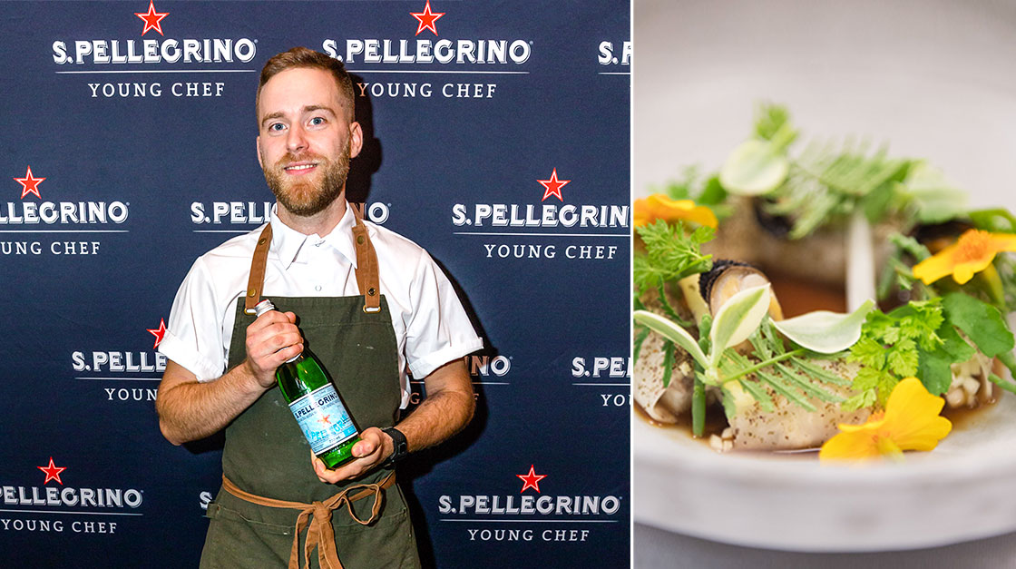 Benjamin Mauroy-Langlais is the Winner of S.Pellegrino Young Chef Canada