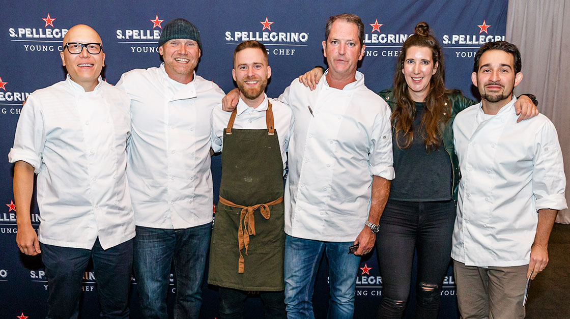 IMG ALT TAG Benjamin Mauroy-Langlais is the Winner of S.Pellegrino Young Chef Canada