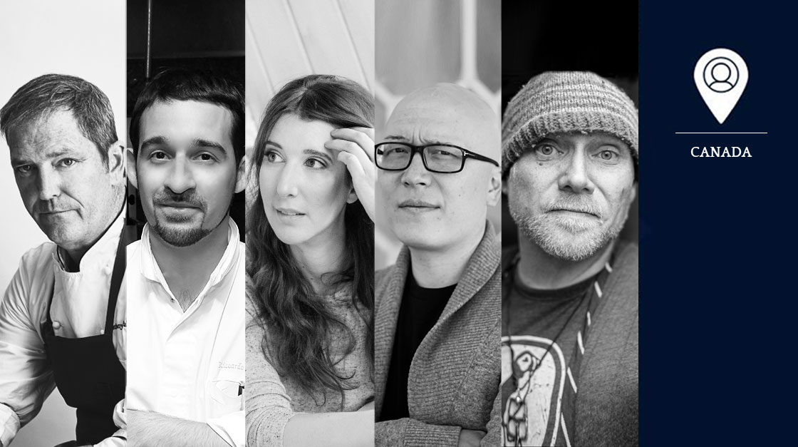 Canadian chefs: jury of the S.Pellegrino Young Chef 2018 regional contest