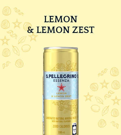 S.Pellegrino Essenza with Lemon and Lemon zest – Discover more