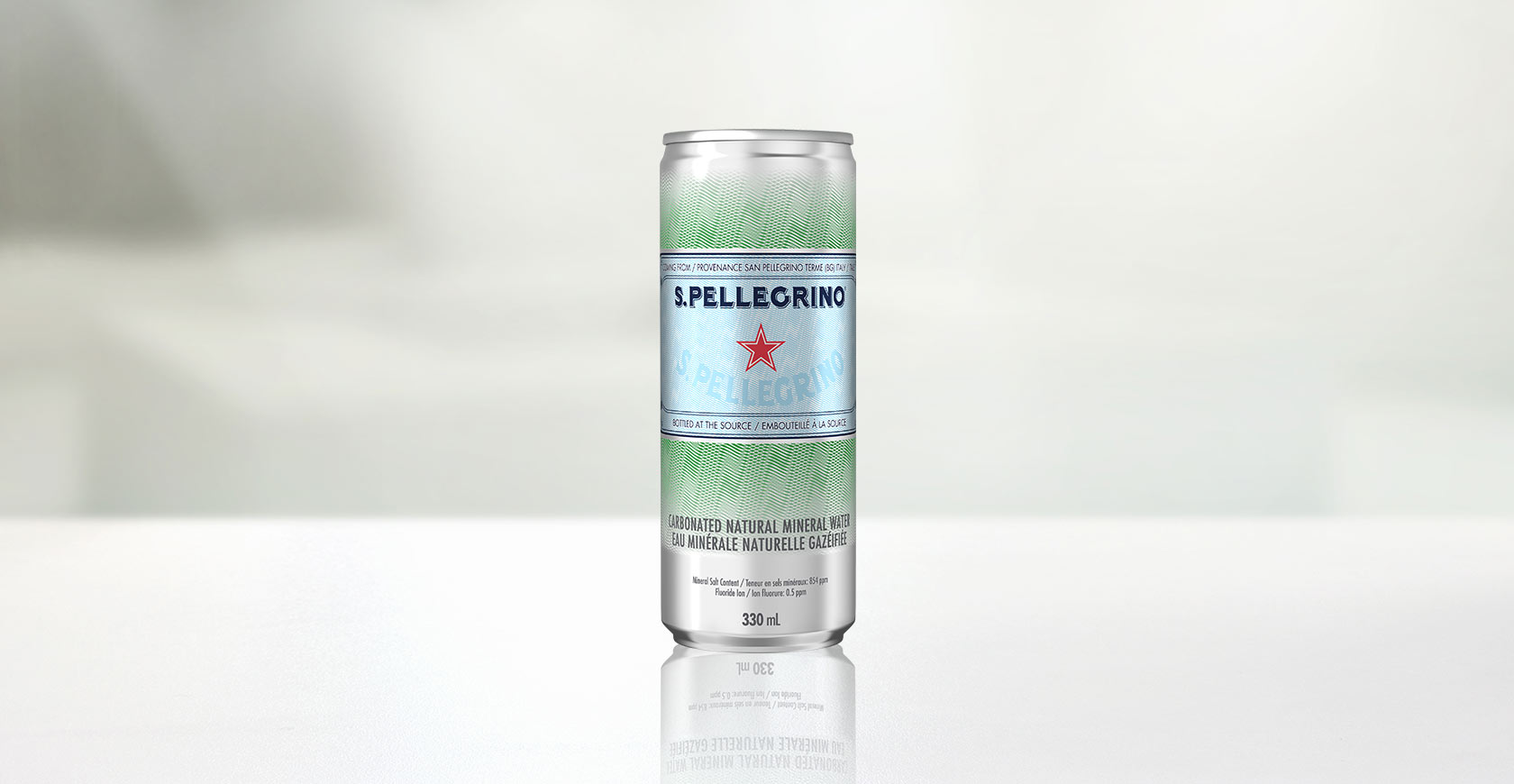 New S.PELLEGRINO® Sleek Can