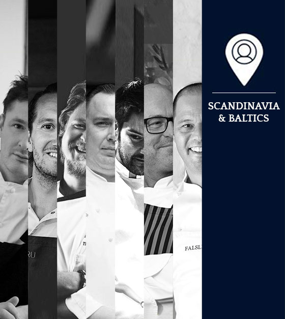 S.Pellegrino Young Chef Competitions 2017: Dommerkomitéen for Skandinavien & de baltiske lande