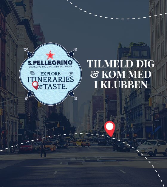 S.Pellegrino Club Itineraries of Taste