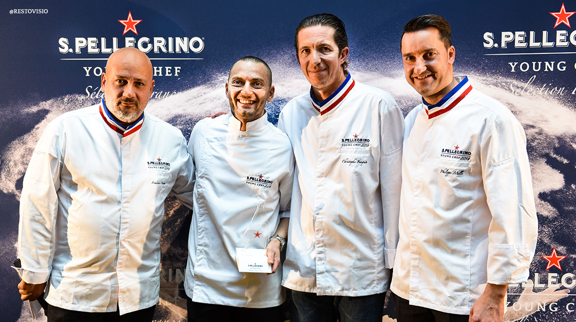 Antonio Buono élu S.Pellegrino Young Chef France