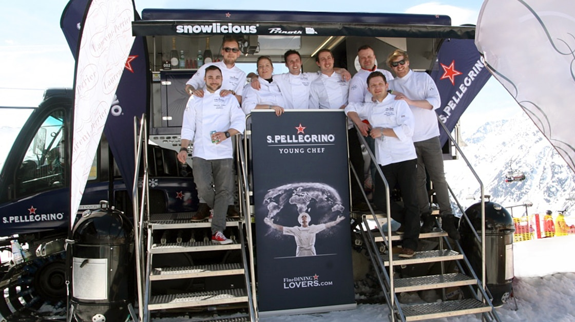 S.Pellegrino Young Chefs in Ischgl