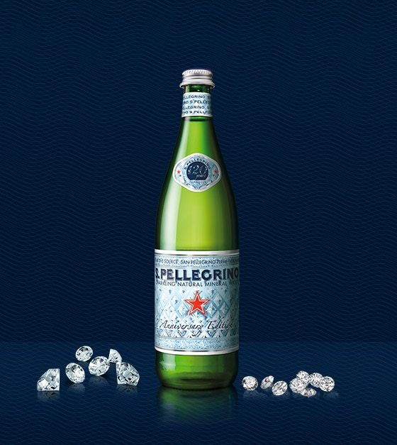 Sanpellegrino 120 years anniversary bottle