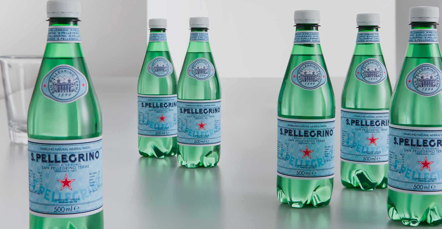 Discover the sustainability of San Pellegrino packaging