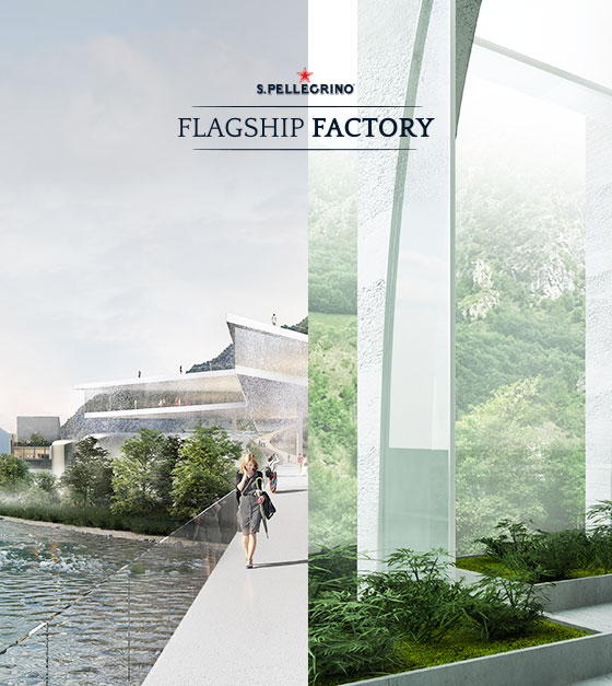 S.PELLEGRINO'S NEW HOME: THE SHORTLIST