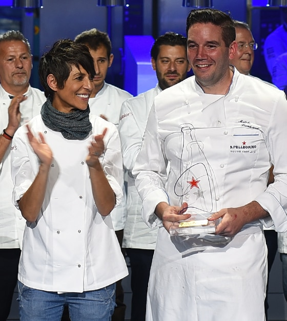 Mitch Lienhard vince S.Pellegrino Young Chef 2016