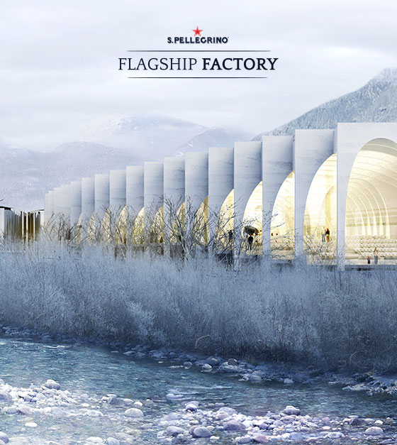 BIG will build the new home for S.Pellegrino® Sparkling Natural Mineral Water