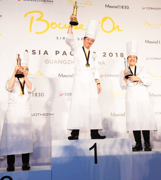 Aussie pride at Bocuse d'Or Asia Pacific 2018, sponsored by S.Pellegrino